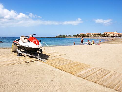 Playa las Vistas, Los Cristianos, Tenerife