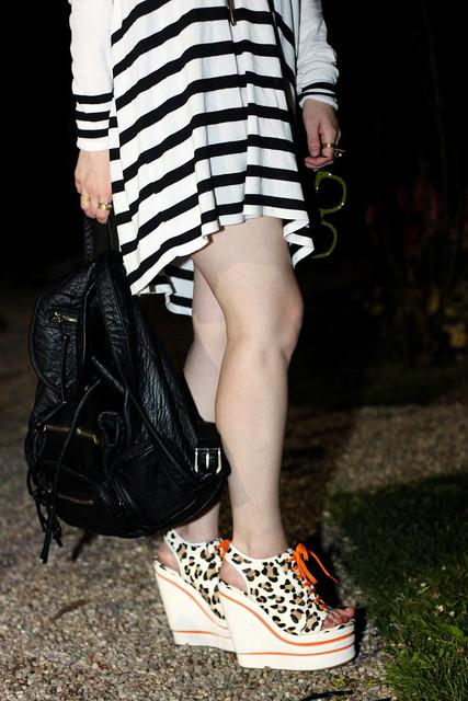 leopard steps