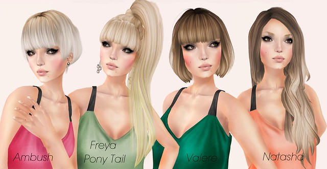 my faves from hair fair!