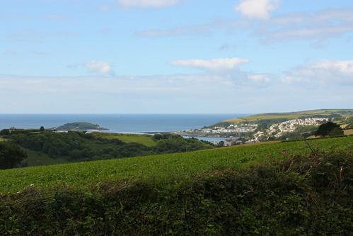 Sea View from Bucklawren Farm
