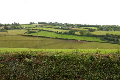 Farm fields