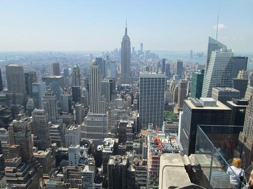 Top of the Rock, Rockefeller Center, NYC. Nueva York