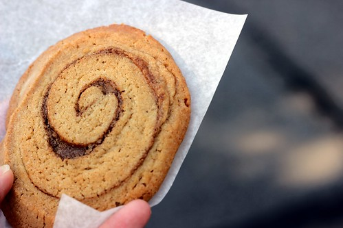 Cinnamon Bun Cookie
