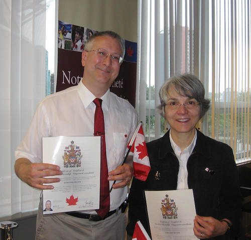 Photo with our Citizenship Certificates