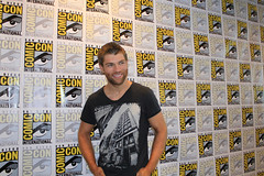 Liam McIntyre from Starz's Spartacus