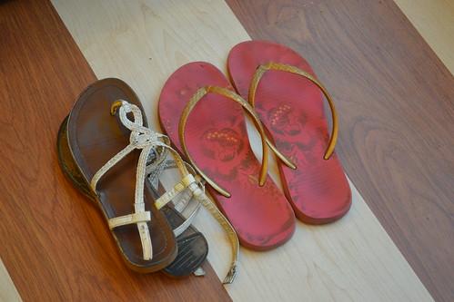 7KG Challenge - Footwear