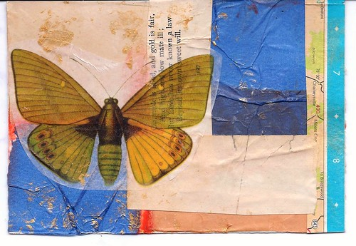 Mail Art going to California exhibit by Lynne Larkin