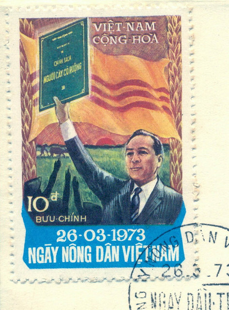 S. Vietnam FDC 26 Mar 1973 - The Vietnam Farmer Day