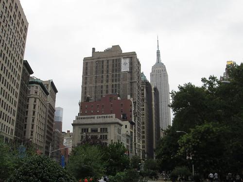 5th Ave & Broadway, Madison Square Park. NYC, Nueva York