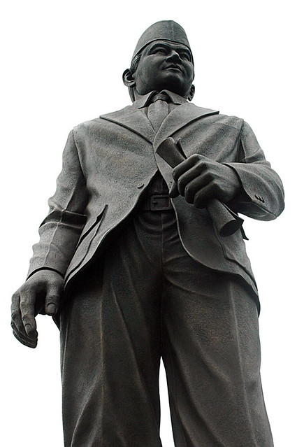 Thamrin statue in Jakarta