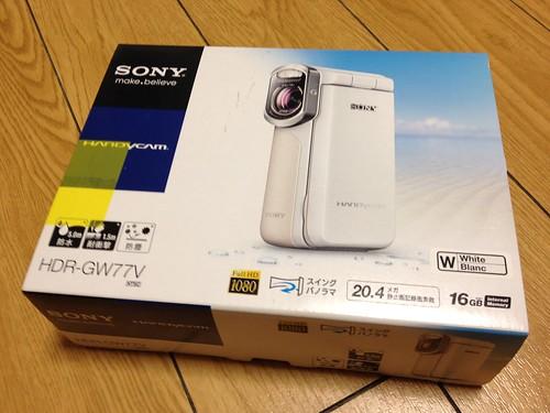 HDR-GW77V BOX