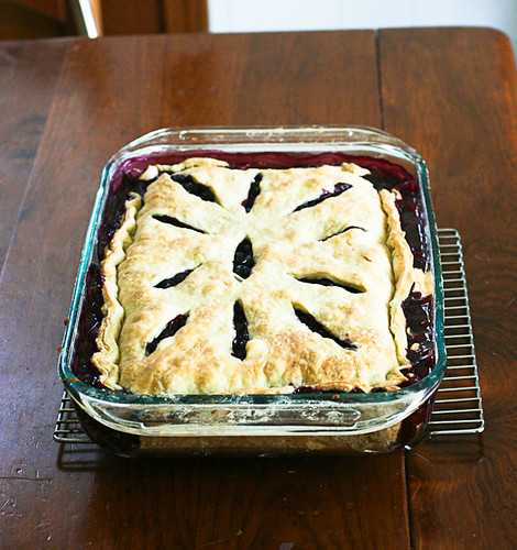 Vacation Blueberry Pie (9 of 12)