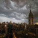 STORM over Empire State Building, NYC by Lisa Bettany {Mostly Lisa}