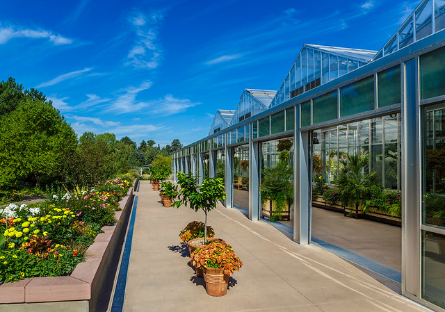 Denver Botanic Gardens - Green House Area from Flickr via Wylio