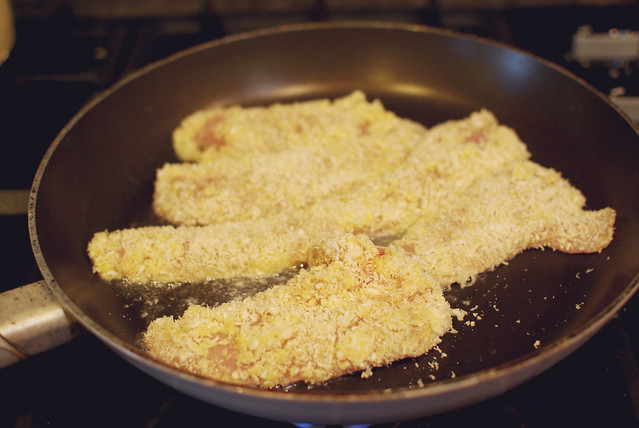 Recipe: Coconut Almond Chicken