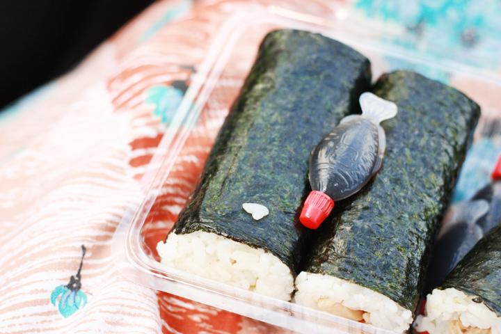 sushi bento box road trip
