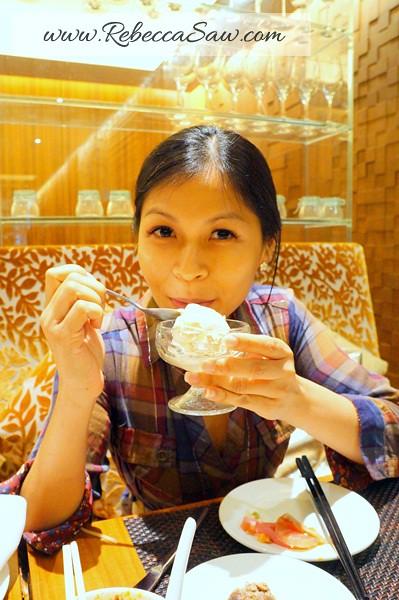 oasia hotel - zaffron restaurant - cold stone ice cream