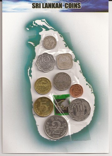 Coins of Sri Lanka 2012