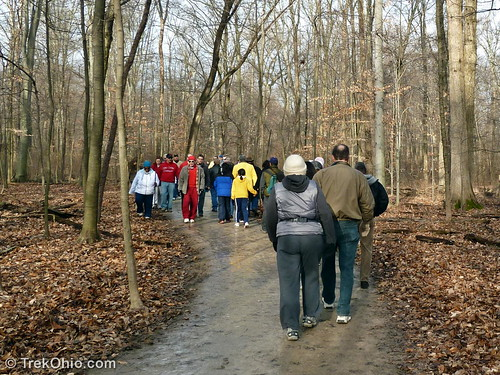 Metropark-sponsored winter hike