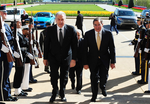 Συνάντηση με τον Υπουργό Άμυνας των ΗΠΑ κ. Leon Panetta (2/4/12)