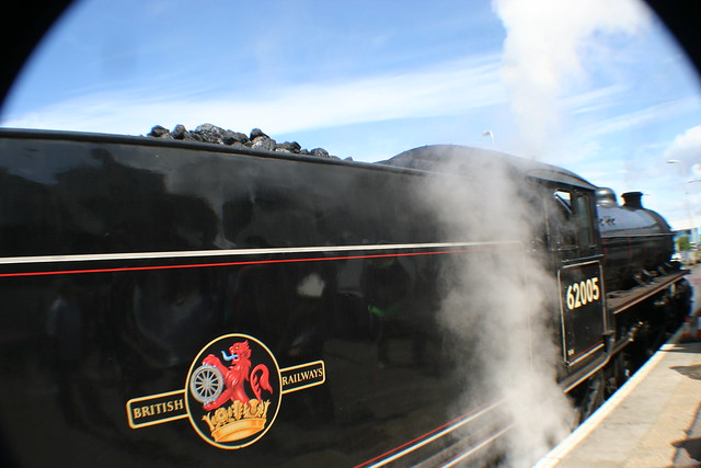 Jacobite Express, Steam Train