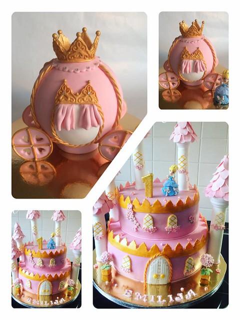 Cinderella Cake by Monja El-ezza