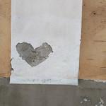 Herz im Putz. #heart #urbanart #regensburg