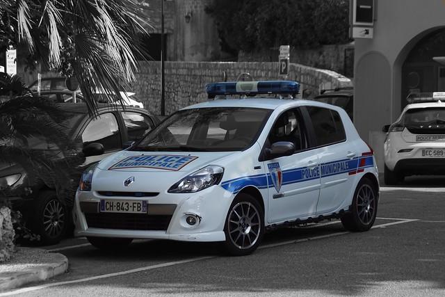 Police Municipale Eze Renault Clio Gordini series