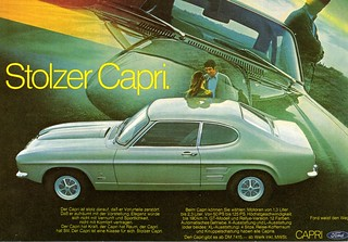1971 Ford Capri (Germany)