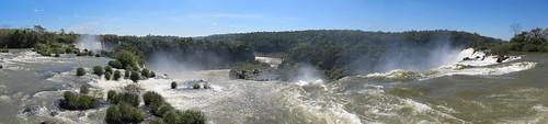 Les chutes d'Iguazu: el Circuito Superior