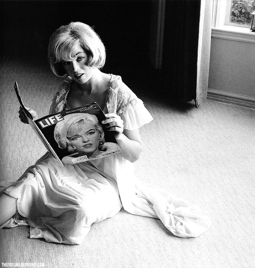 A Marilyn Monroe look-alike shortly after Marilyn's death