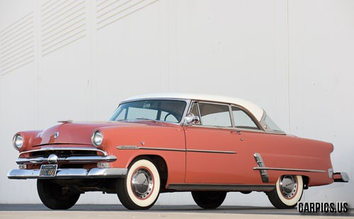 1953 ford crestline victoria two door hardtop via