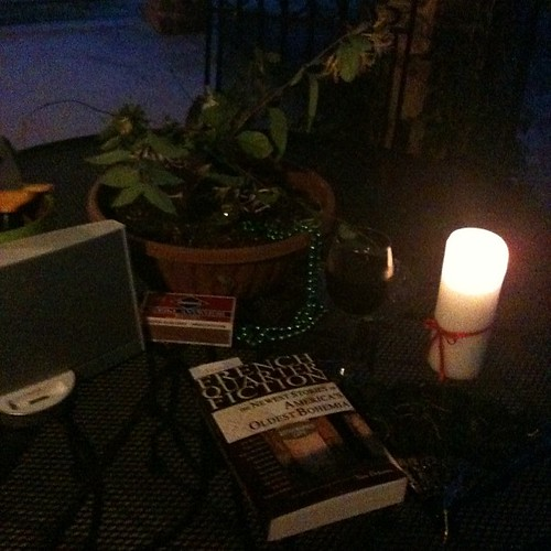 Evening on the porch