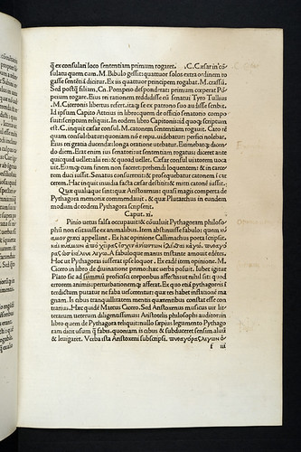 Washed out annotations in Gellius, Aulus: Noctes Atticae
