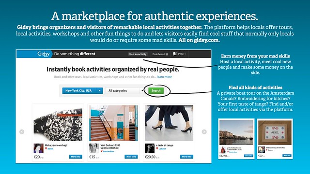 A marketplace for authentic experiences.