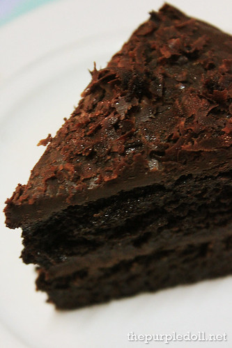 Frank&Carols Dark Chocolate Cake Slice