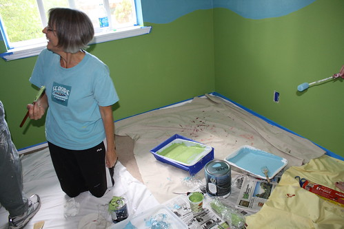 Painting Baby Room 3