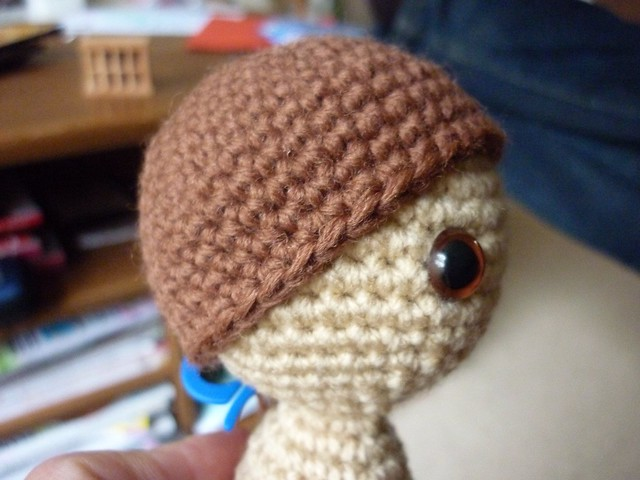 Amigurumi Curly Hair Tutorial : Crochet-A-Long Monkey/Doll: Tutorial 4: Finishing a doll