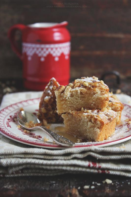 Armenian nutmeg cake