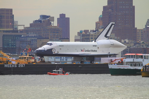The Space Shuttle Enterprise