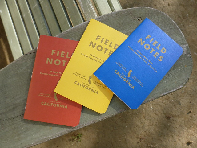 Field Notes Brand: California Trio
