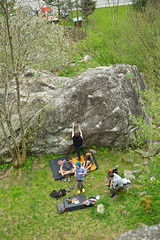 Bouldering in Val Masino