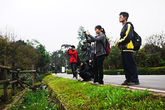 台大自然保育社的綠色校園,結合了校園與社區共同認識校園環境。
