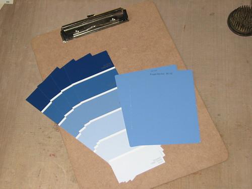 Paint Chip Clipboard 002