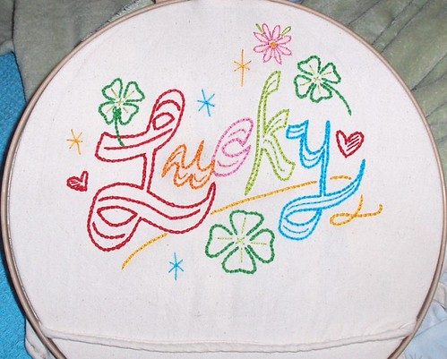 Lucky pattern from Sublime Stitching!!!