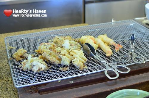 Market Cafe Hyatt Tempura