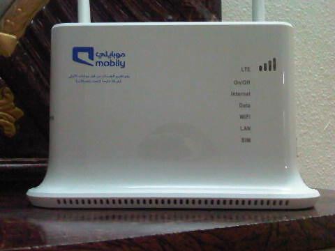 ����� ������� ���� ������� ����� 4G ��� ����� Mobily 4G modem settings