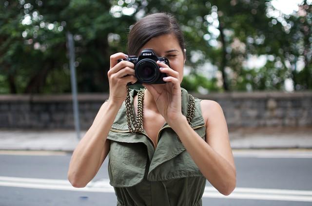 diy chain camera strap 6