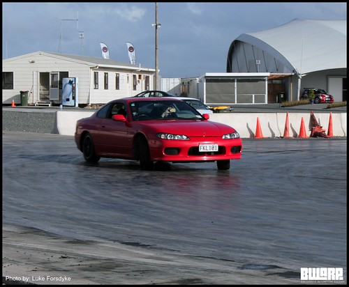 Red Nissan Silvia S15