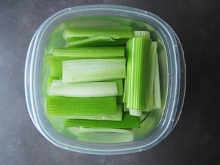 celery, stayin' crunchy